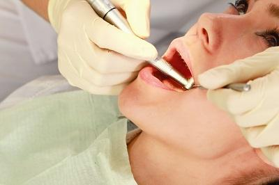 Patient undergoing root canal procedure at emergency dentist in Prosper, TX