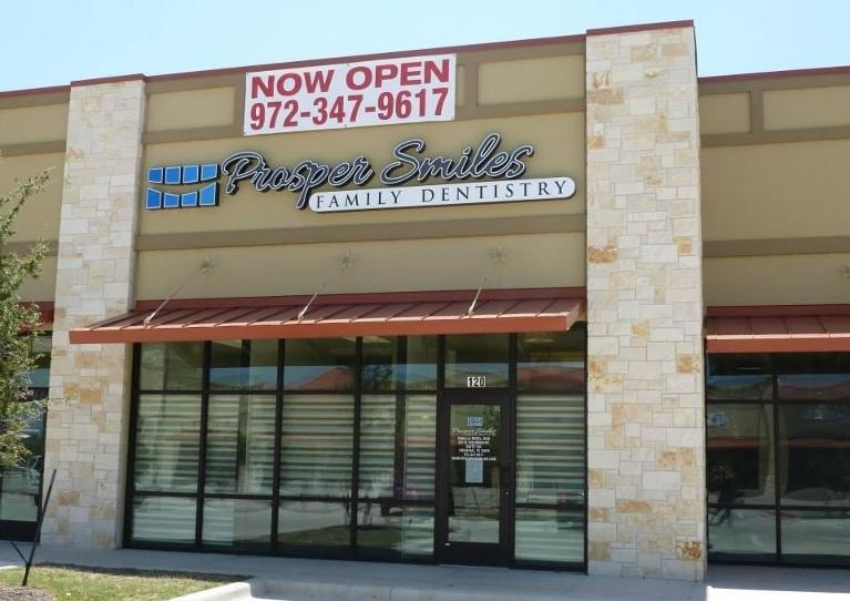 prosper family dental | exterior